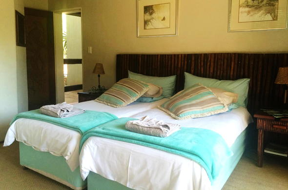 Twin Room accommodation is offered at Bushwise Safari Lodge.