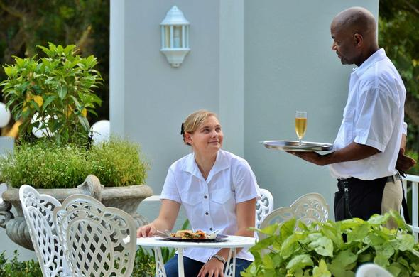 Enjoy great service from the friendly hotel staff.