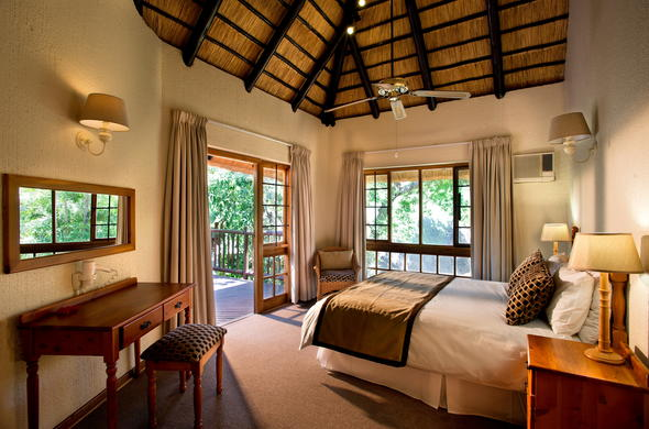 Kruger Park Lodge offers comfortable safari accommodation.